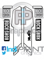 Rock Shox Lyrik 2015 Decals